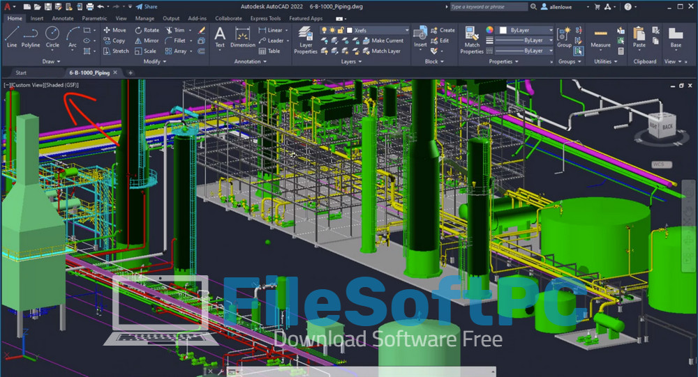 Download Autocad 2022 Free Và What's News - 3D Graphics Technical Preview