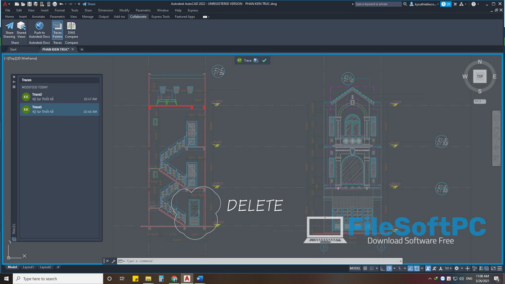 Download Autocad 2022 Free Và What's News - Trade 2