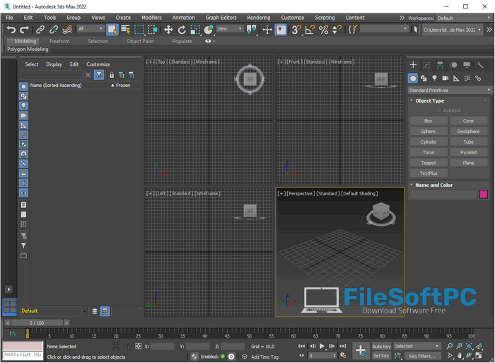 Download Autodesk 3Ds Max 2022 Free
