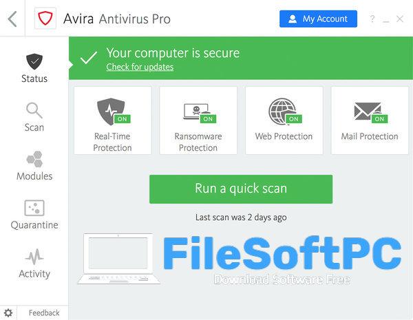 Download Avira Antivirus Pro Free For Pc - Filesoftpc