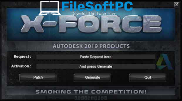 The Product Keys For All Autodesk 2019 Products