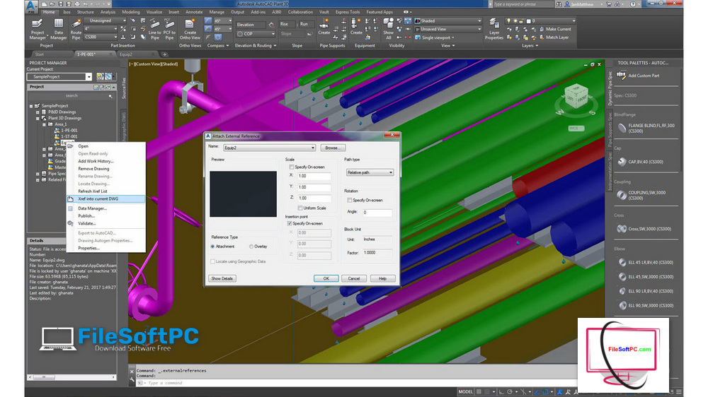Download Autocad Plant 3D 2022 Full Active Free